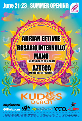 KUDOS BEACH Summer Opening